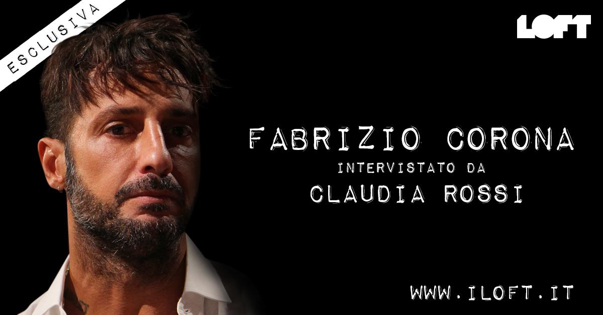Esclusiva, Fabrizio Corona prima di entrare al Grande Fratello VIP 2018